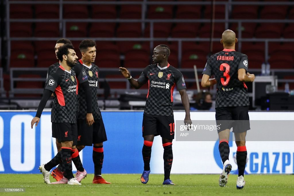 "UEFA Champions League Group D""Ajax Amsterdam v Liverpool FC"" : News Photo"