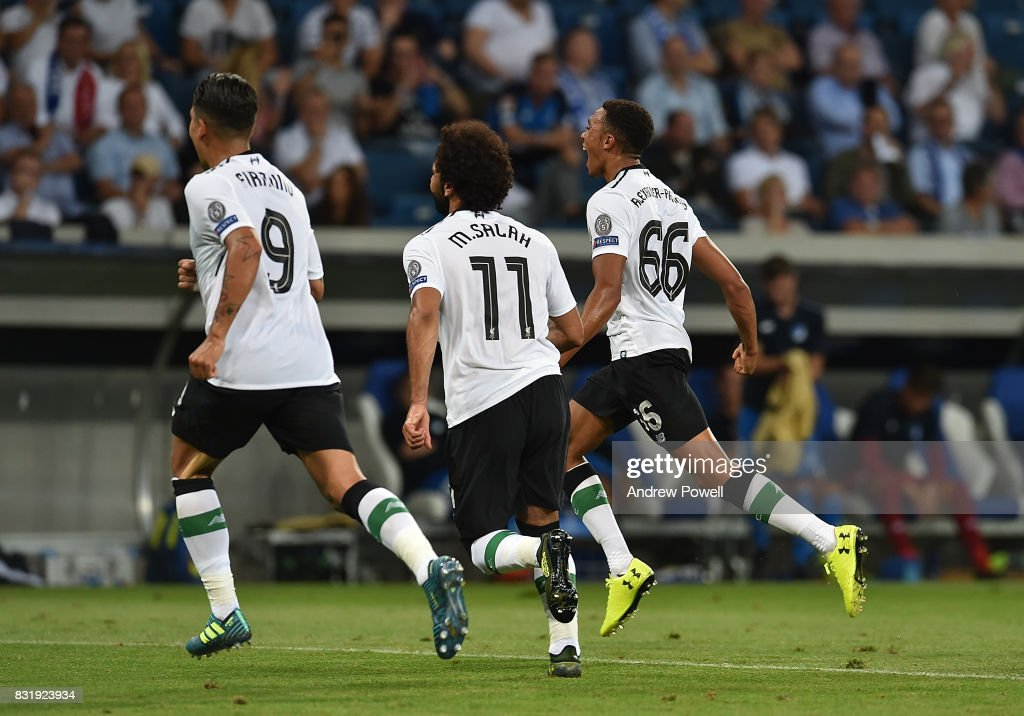 1899 Hoffenheim v Liverpool FC - UEFA Champions League Qualifying Play-Offs Round: First Leg : News Photo