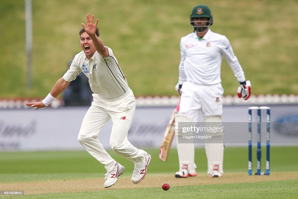New Zealand v Bangladesh - 1st Test: Day 1