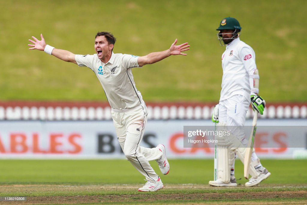 New Zealand v Bangladesh - 2nd Test: Day 5 : News Photo