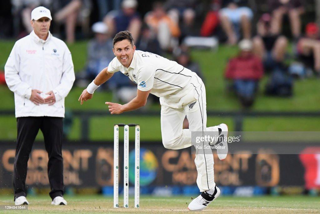 New Zealand v Pakistan - 2nd Test: Day 3 : News Photo