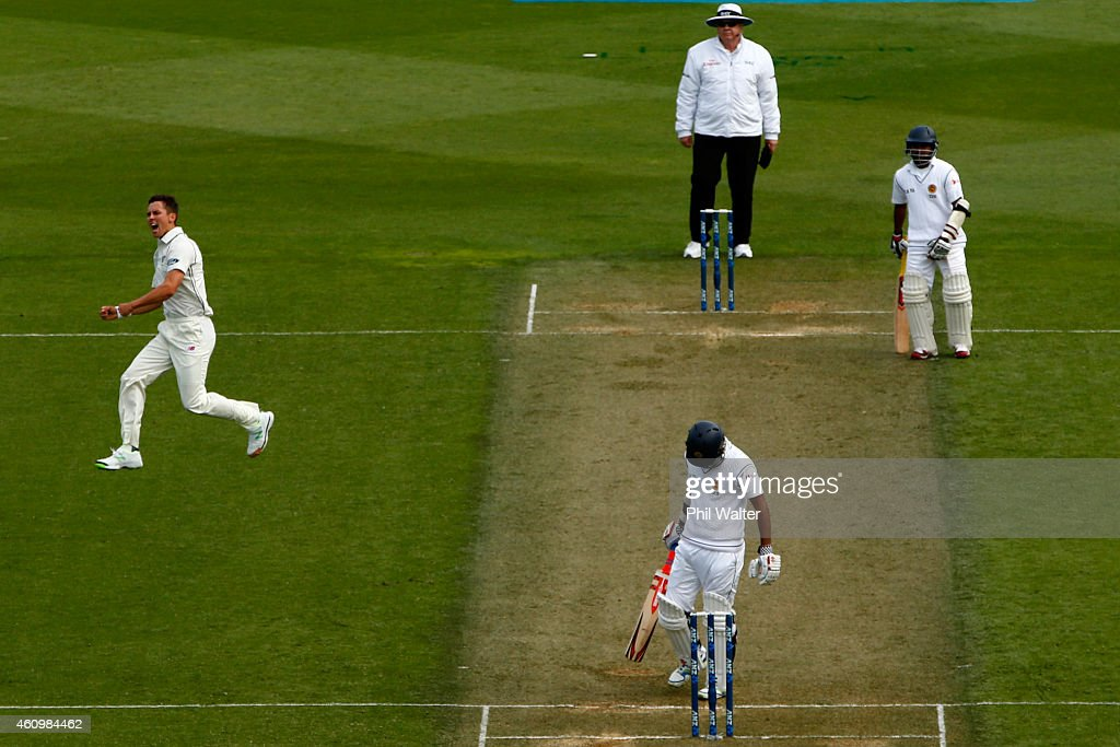 New Zealand v Sri Lanka - 2nd Test: Day 1 : News Photo