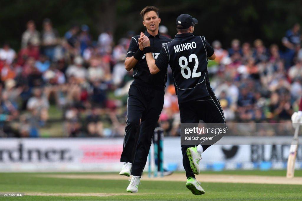 New Zealand v West Indies: 2nd ODI