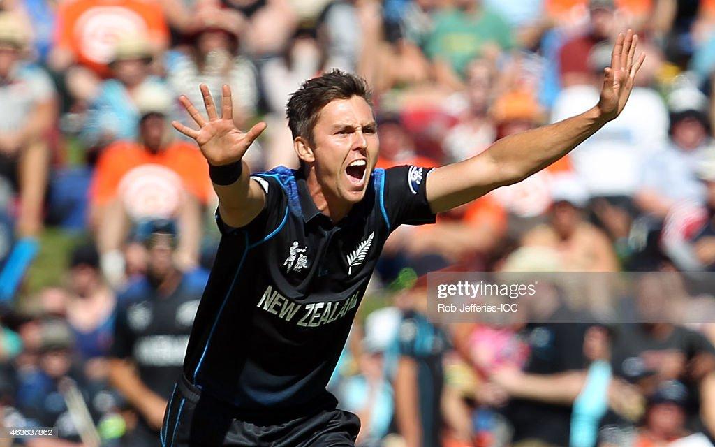 New Zealand v Scotland - 2015 ICC Cricket World Cup