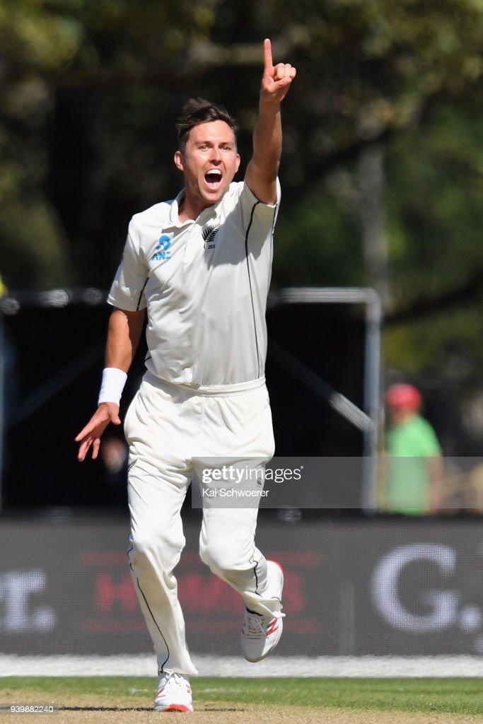 New Zealand v England - 2nd Test: Day 1