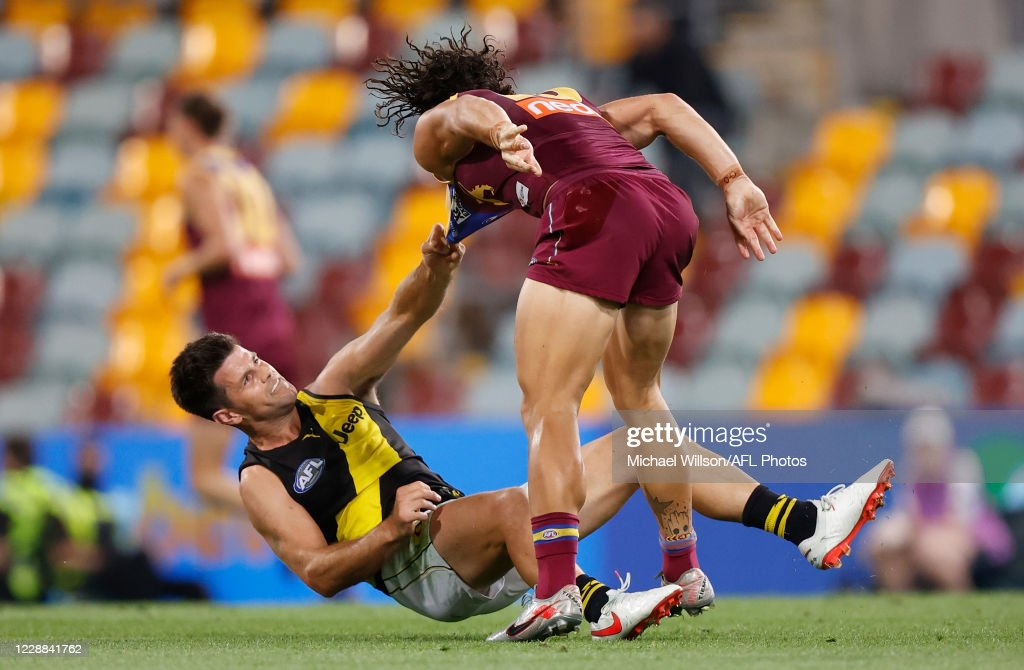 AFL 2nd Qualifying Final - Brisbane v Richmond : News Photo