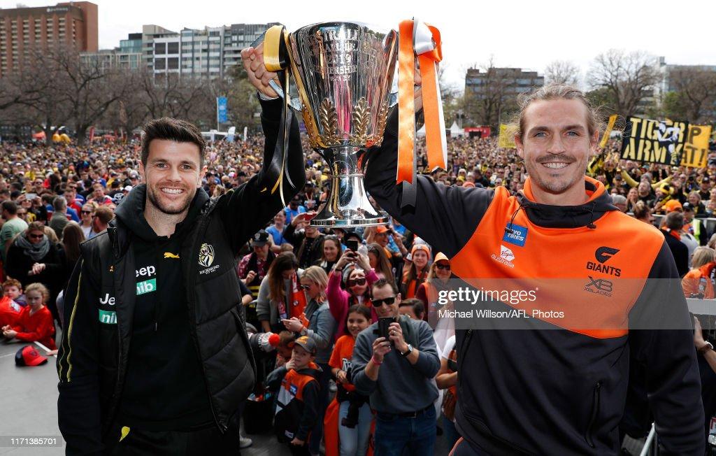 2019 AFL Grand Final Parade : News Photo