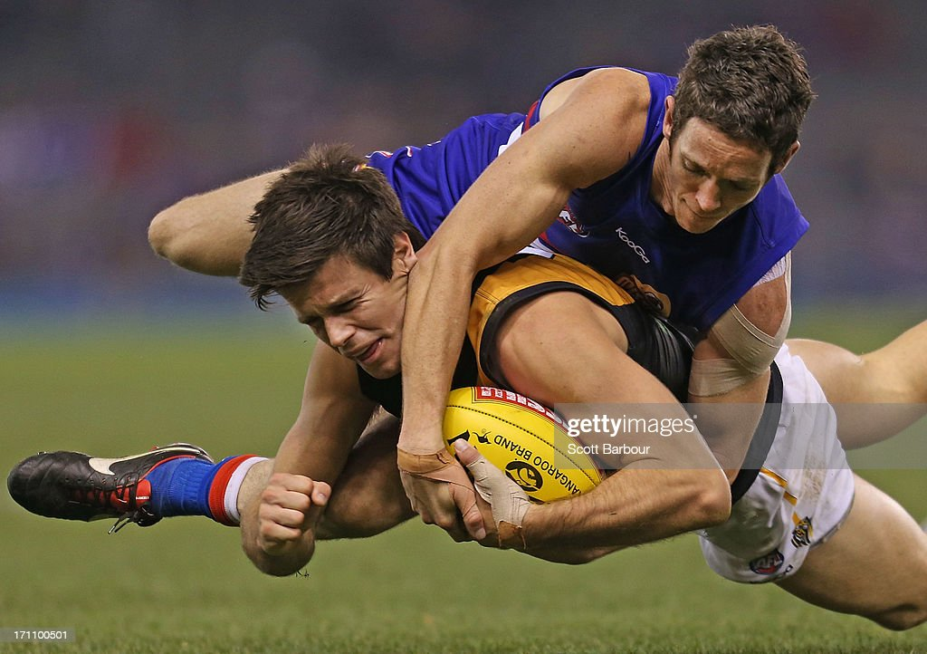 AFL Rd 13 - Western Bulldogs v Richmond