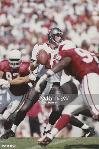Trent Dilfer Quarterback for the Tampa Bay Buccaneers during the National Football Conference Central game against the Arizona Cardinals on 28...