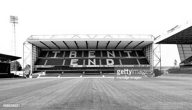 Trent End Stand the City Ground Nottingham Forest Football Club stadium Nottinghamshire 1995 Nottingham Forest were founded in the 1860s gaining...