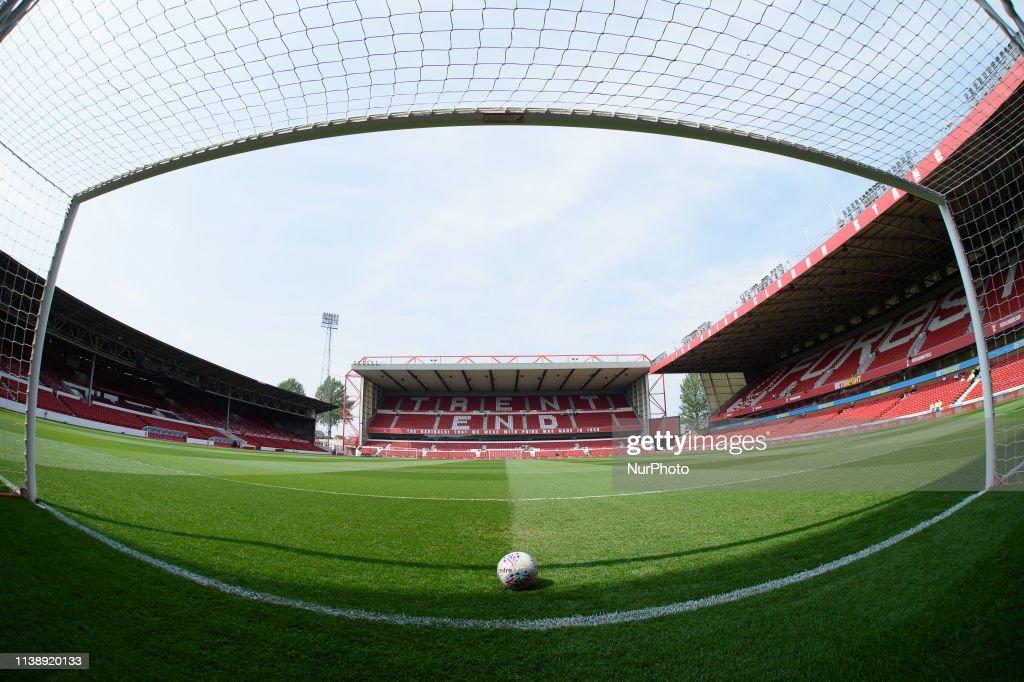 GBR: Nottingham Forest v Middlesbrough - EFL Sky Bet Championship