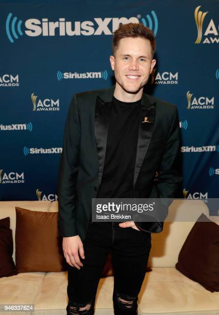 Trent Harmon attends SiriusXM's The Highway channel broadcast backstage at the Academy of Country Music Awards on April 14, 2018 in Las Vegas, Nevada.