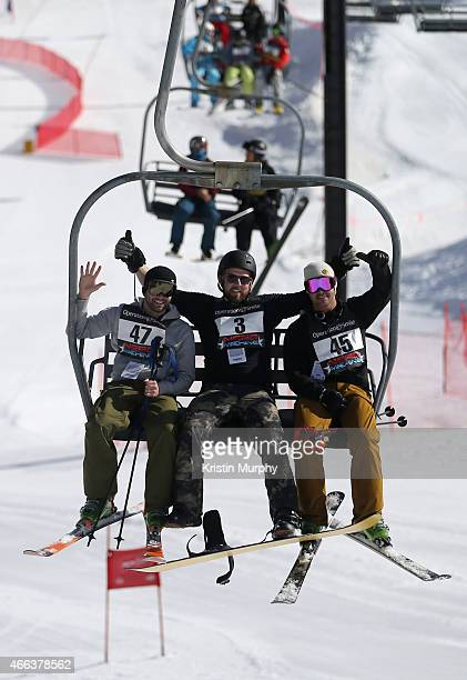 Trent Kinney David Coleman and Taylor Kinney attend the Ski Challenge at Operation Smile's 4th Annual Celebrity Ski Smile Challenge at Park City...