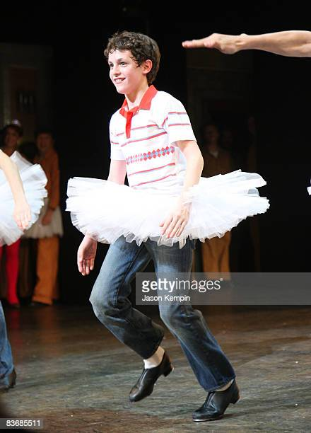 Trent Kowalik attends the opening night curtain call for Billy Elliot The Musical on Broadway at the Imperial Theatre on November 13 2008 in New York...
