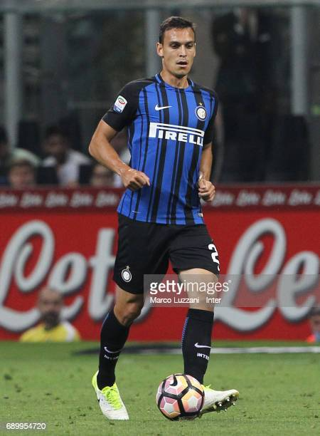 Trent Lucas Sainsbury of FC Internazionale Milano in action during the Serie A match between FC Internazionale and Udinese Calcio at Stadio Giuseppe...