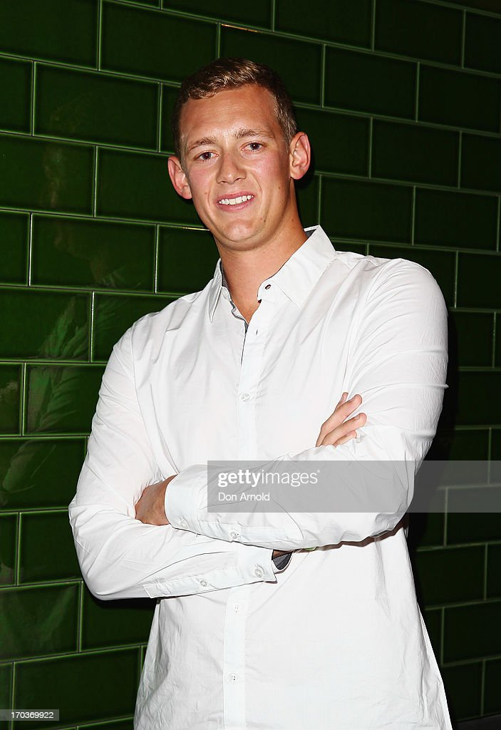 Trent Maxwell poses during the CLEO Bachelor of the Year Awards at the Beresford Hotel on June 12, 2013 in Sydney, Australia.
