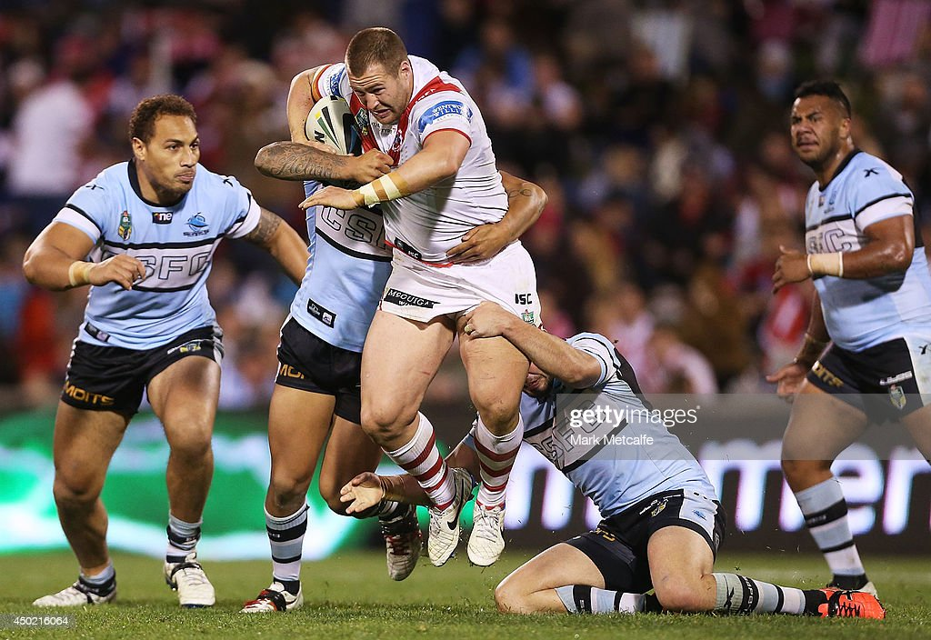 NRL Rd 13 - Dragons v Sharks