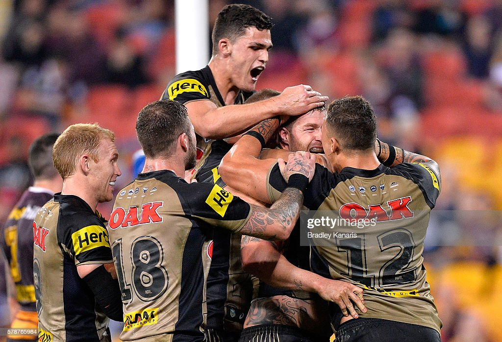 NRL Rd 20 - Broncos v Panthers