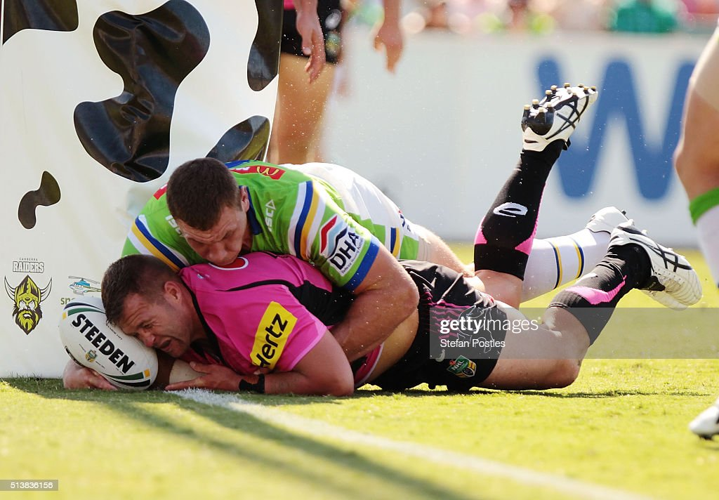 NRL Rd 1 - Raiders v Panthers