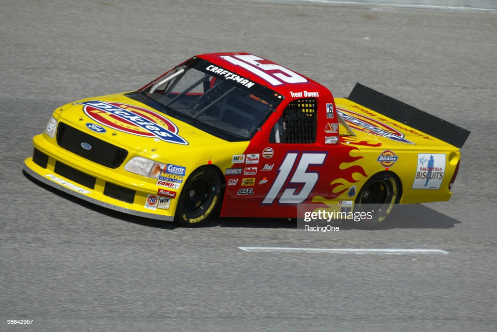 Trent Owens finished 15th in the Craftsman Anniversary 200 Truck Series race. He was the highest-finishing rookie. Ironically, he drove truck No. 15, started 15th, and finished 15th.