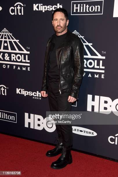Trent Reznor attends the 2019 Rock Roll Hall Of Fame Induction Ceremony at Barclays Center on March 29 2019 in New York City