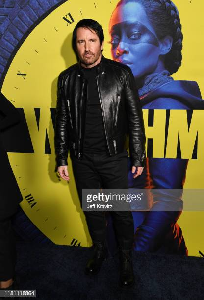 Trent Reznor attends the Los Angeles Premiere of the new HBO Series Watchmen on October 14 2019 in Los Angeles California