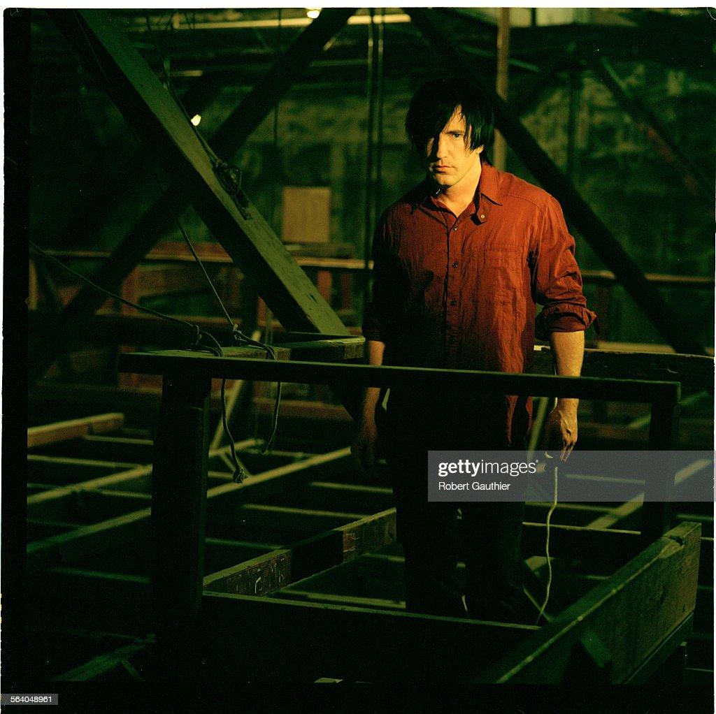 Trent Reznor of Nine Inch Nails at Culver Studios in Culver City ...