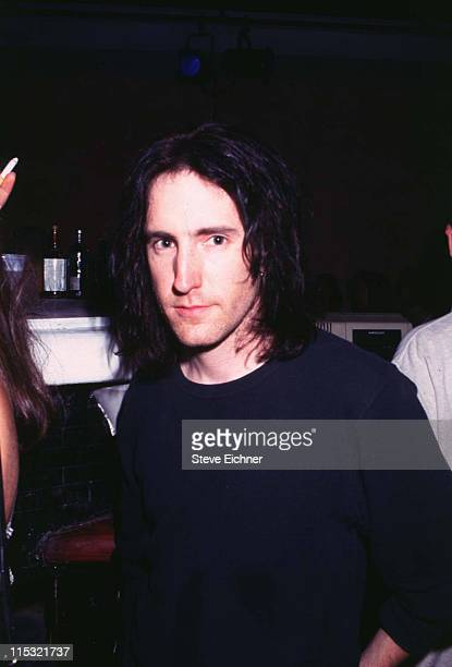 Trent Reznor of Nine Inch Nails during Trent Reznor of Nine Inch Nails at Limelight 1995 at Limelight in New York City New York United States