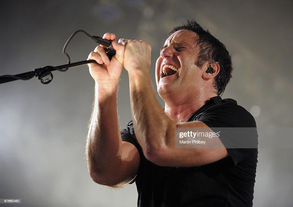 Nine Inch Nails : News Photo