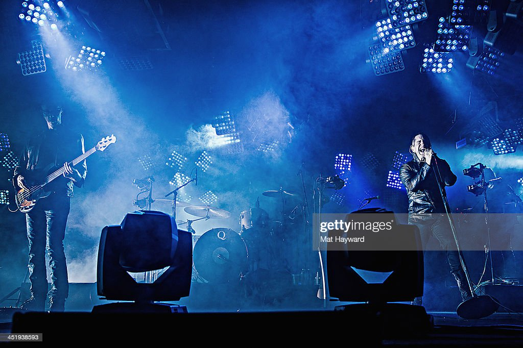 Nine Inch Nails Perfom In Concert At Key Arena Photos and Images ...
