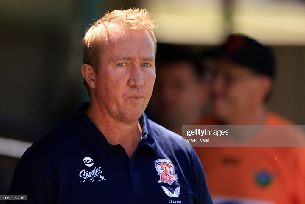 NRL Trial Match - Roosters v Raiders : News Photo