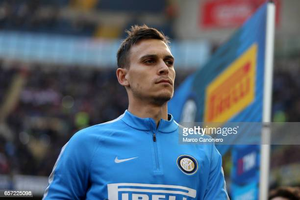 Trent Sainsbury of FC Internazionale before the Serie A match between FC Internazionale and Atalanta BC at Stadio Giuseppe Meazza Internazionale wins...