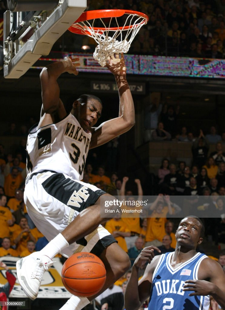 NCAA Men's Basketball - Wake Forest vs. Duke