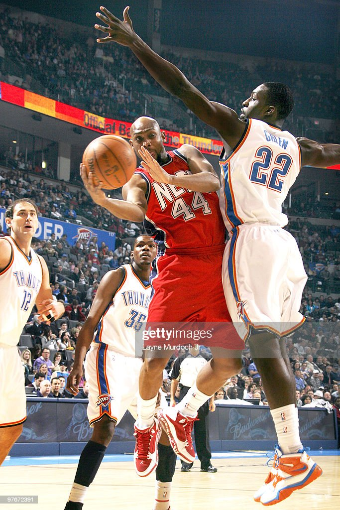 New Jersey Nets v Oklahoma City Thunder