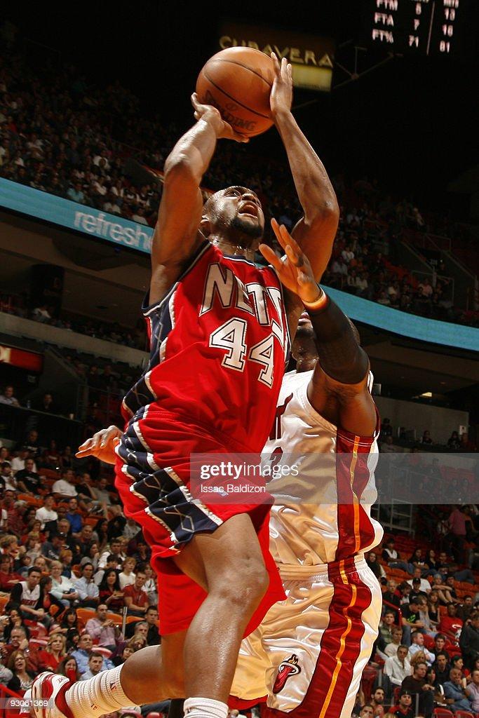 New Jersey Nets v Miami Heat