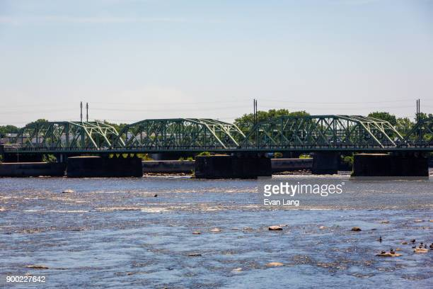 trenton makes bridge - trenton new jersey stock photos and pictures