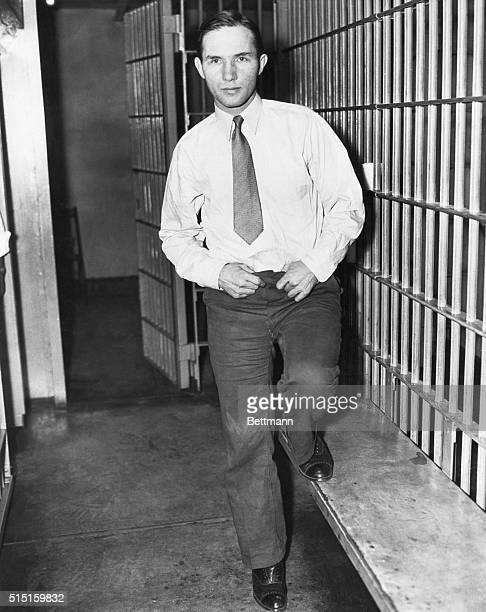 2/14/1935 Trenton NJ Convicted of the murder and kidnapping of Charles A Lindbergh Jr sentenced to death Bruno Richard Hauptmann smiles for the...