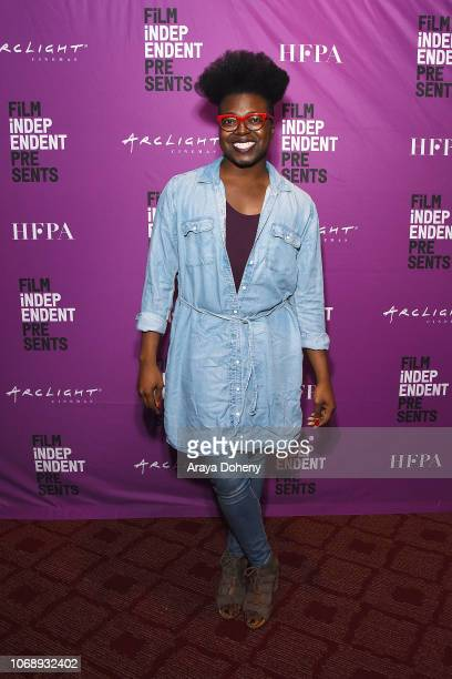 Tre'vell Anderson attends the Film Independent Special Screening of 'If Beale Street Could Talk' at ArcLight Hollywood on December 5 2018 in...