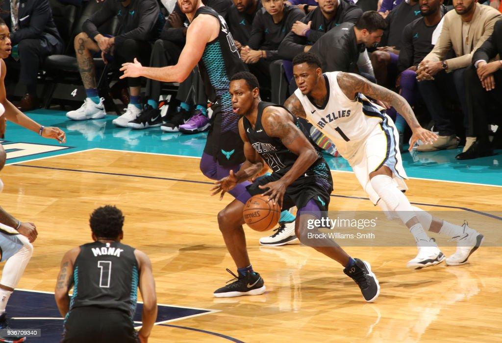 Memphis Grizzlies v Charlotte Hornets : News Photo