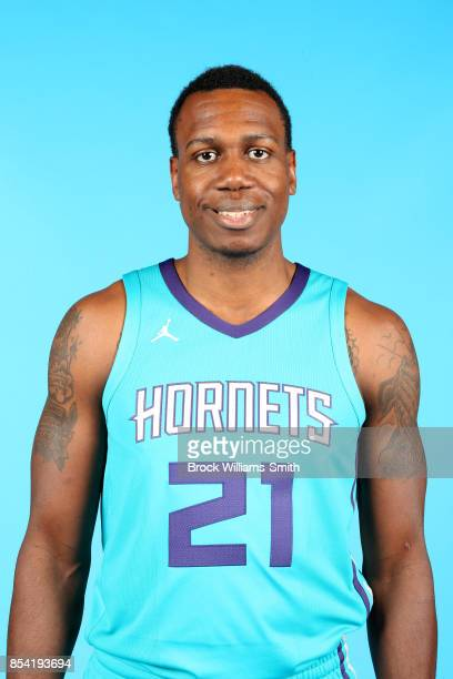 Treveon Graham of the Charlotte Hornets poses for a head shot during media day at Spectrum Center in Charlotte North Carolina NOTE TO USER User...
