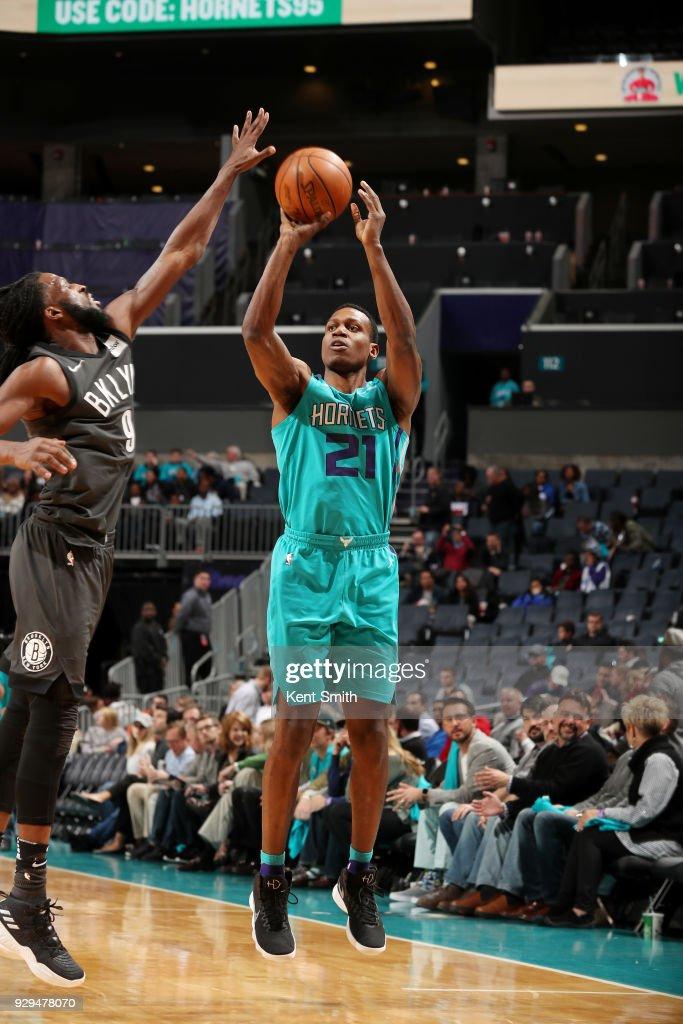 Brooklyn Nets v Charlotte Hornets : News Photo