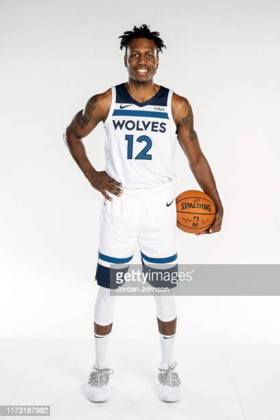 Treveon Graham of the Minnesota Timberwolves poses for a portrait during Media Day on September 30 2019 at Target Center in Minneapolis Minnesota...