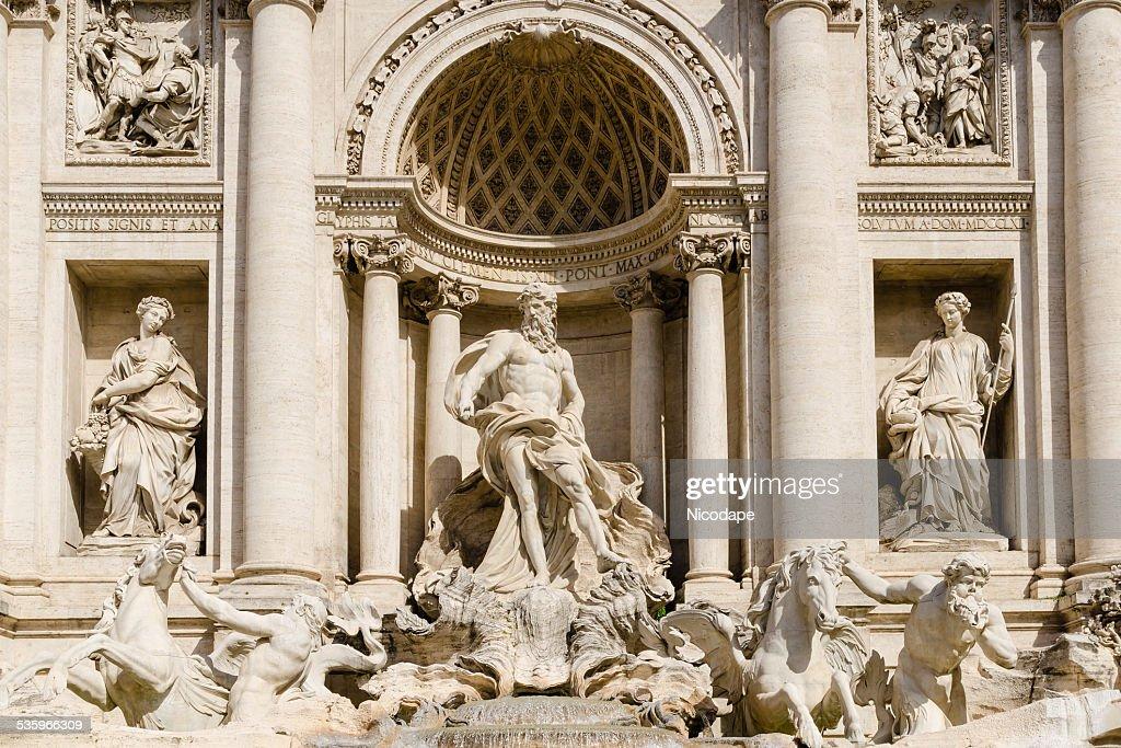 Trevi fountain, Rome, Italy : Stock Photo