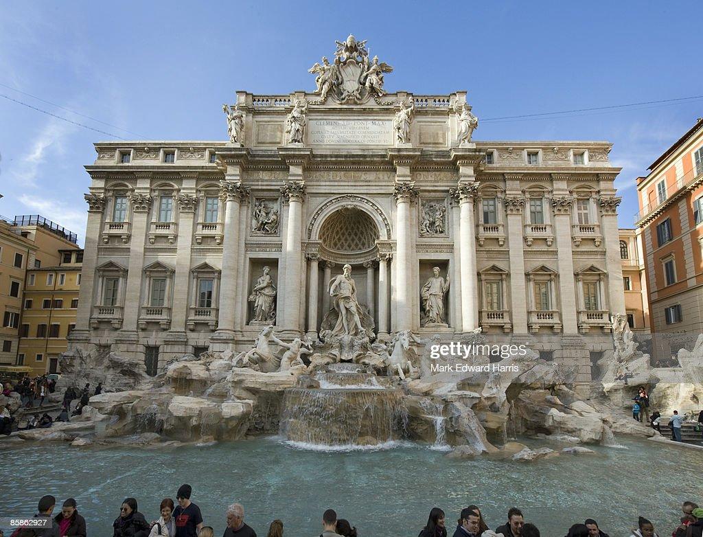 Trevi Fountain, Rome : Stock-Foto