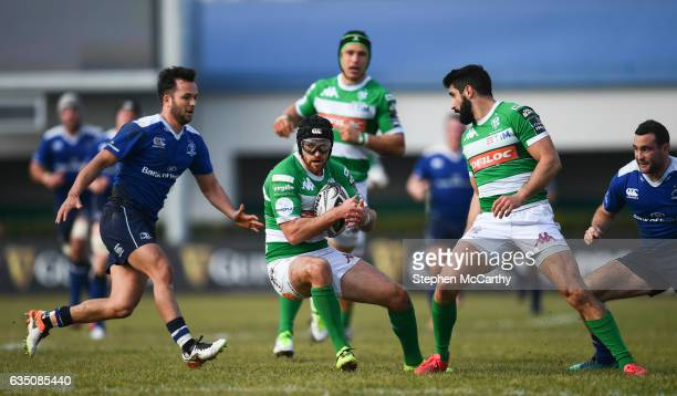 Treviso Italy 12 February 2017 Ian McKinley of Benetton Treviso during the Guinness PRO12 Round 14 match between Benetton Treviso and Leinster at...