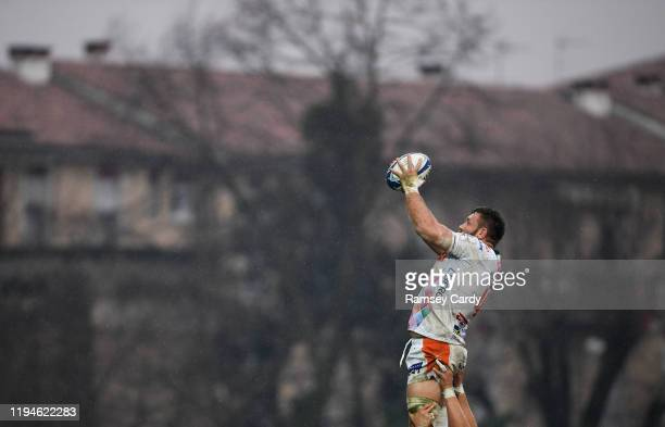 Treviso Italy 18 January 2020 Alessandro Zanni of Benetton during the Heineken Champions Cup Pool 1 Round 6 match between Benetton and Leinster at...