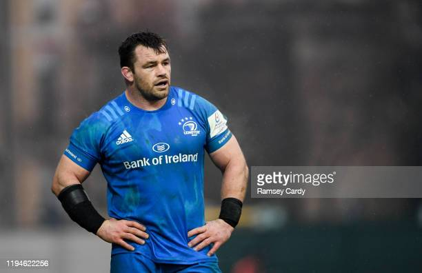 Treviso Italy 18 January 2020 Cian Healy of Leinster during the Heineken Champions Cup Pool 1 Round 6 match between Benetton and Leinster at the...