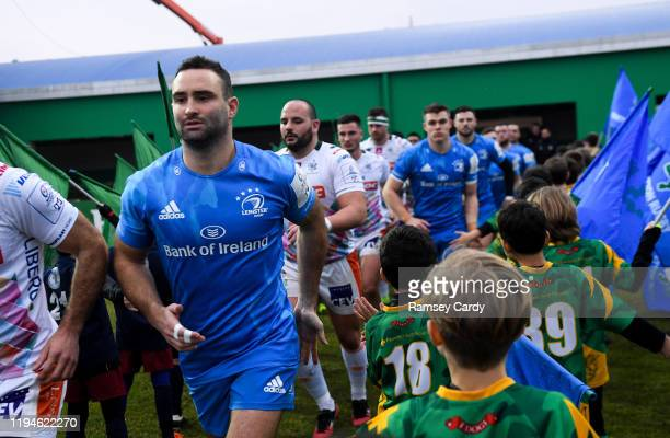 Treviso Italy 18 January 2020 Dave Kearney of Leinster ahead of the Heineken Champions Cup Pool 1 Round 6 match between Benetton and Leinster at the...