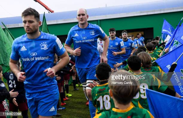 Treviso Italy 18 January 2020 Devin Toner of Leinster ahead of the Heineken Champions Cup Pool 1 Round 6 match between Benetton and Leinster at the...