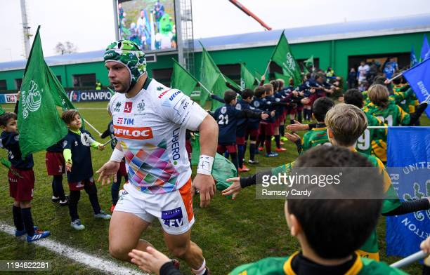 Treviso Italy 18 January 2020 Federico Zani of Benetton ahead of the Heineken Champions Cup Pool 1 Round 6 match between Benetton and Leinster at the...